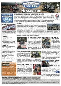 Newsletter Juin 2016