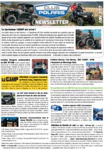 La Newsletter Juin 2017 est parue