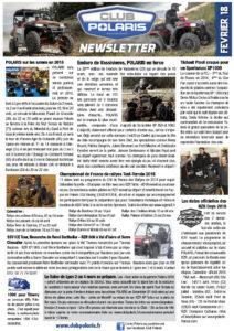 La Newsletter de Février