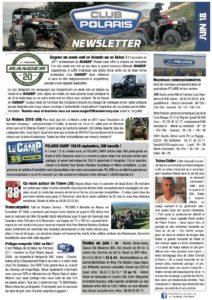 Newsletter juin 2018
