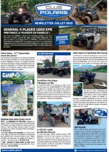 Newsletter de Juillet 2020